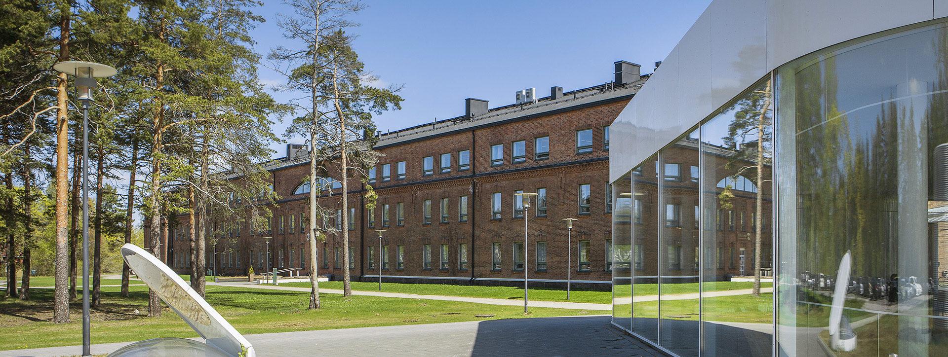 Kouvolan kampuksen rakennuksia