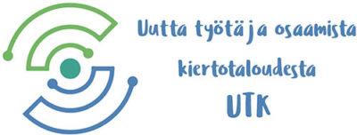 Uutta työtä ja osaamista kiertotaloudesta -logotiedosto