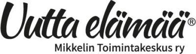 Mikkelin toimintakeskus ry - Uutta elämää -logotiedosto