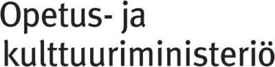 Opetus- ja kulttuuriministeriön logotiedosto
