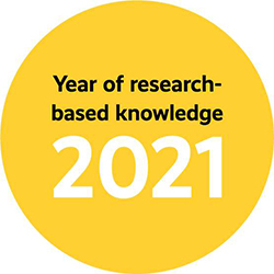 Year of research-based knowledge 2021