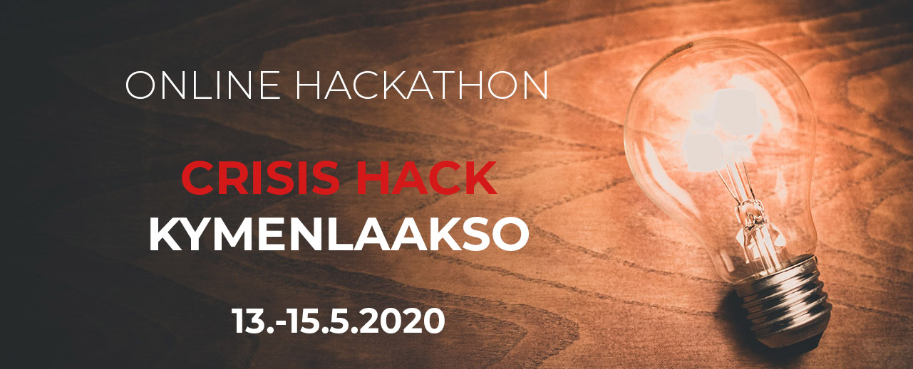 hack the crisis kymenlaakso event