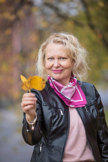Lehtori Marja-Liisa Siren-Huhtala Xamkista