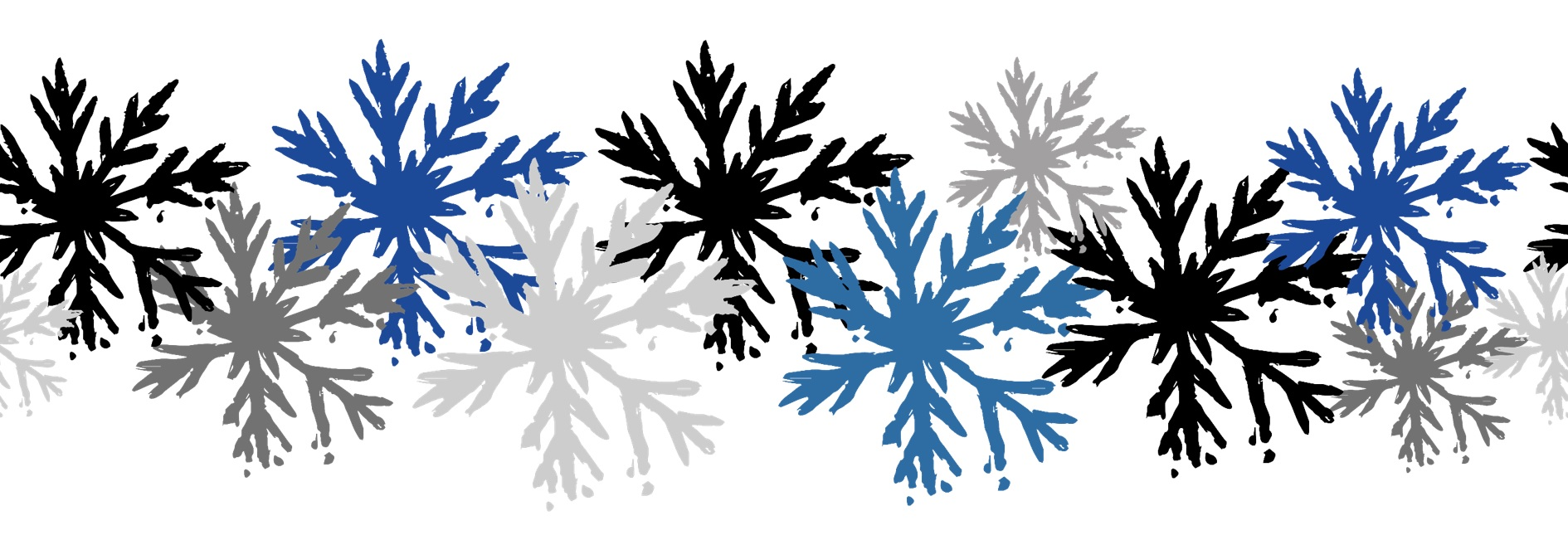 Lumisadetta Nuoskan logo lumihiutaleella