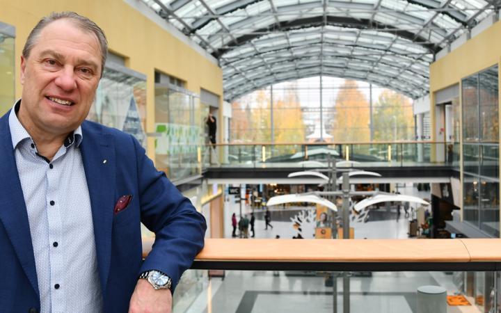 Osuuskauppa Suur-Savon toimitusjohtaja Heikki Hämäläinen