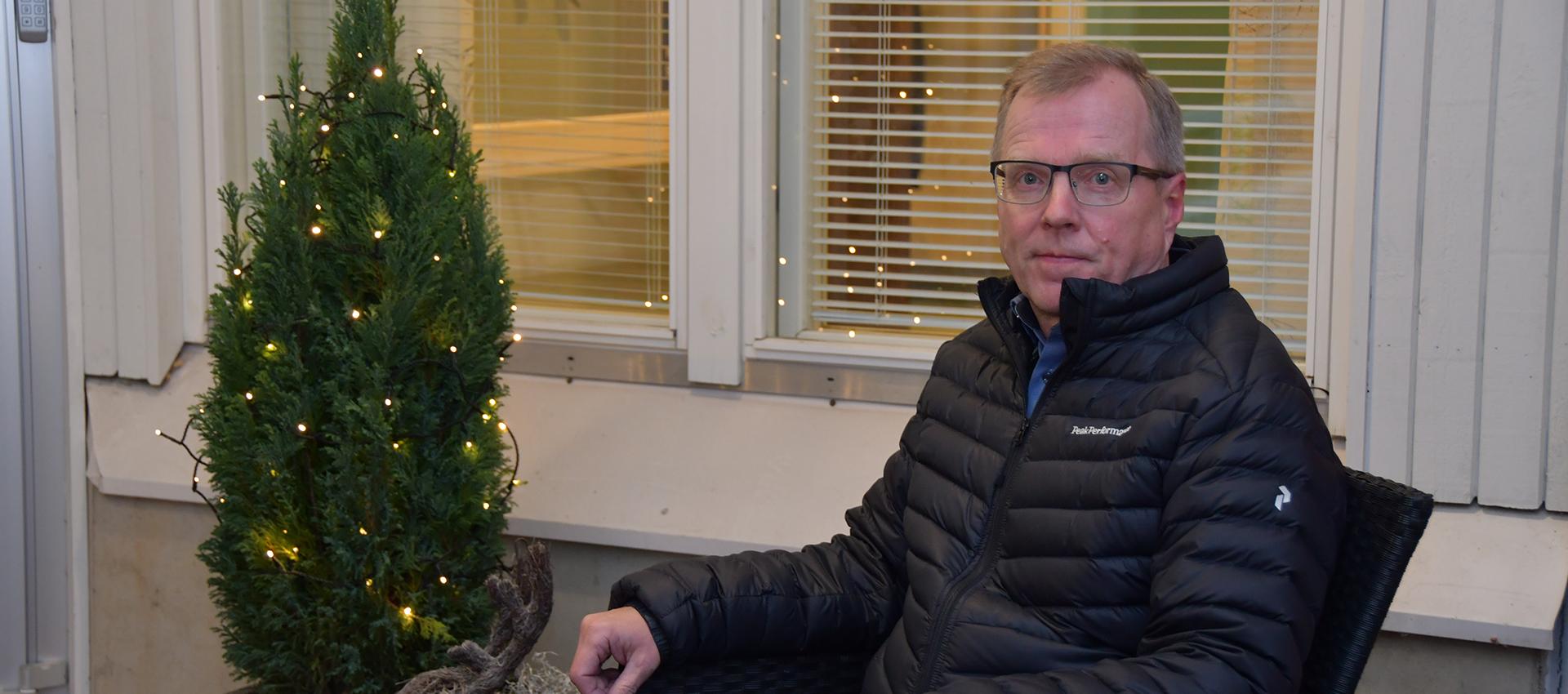 Iltakoti Oy:n toimitusjohtaja Jari Leskinen