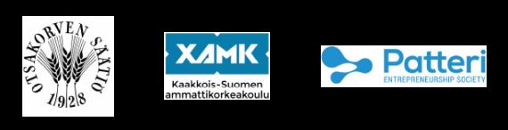 Otsakorven säätiö Xamk ja PatteriES logo