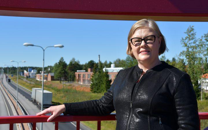 Pienyrityskeskuksen johtaja Anne Gustafsson-Pesonen