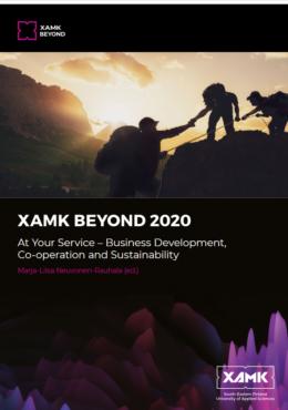 Xamk Beyond -julkaisun kansi