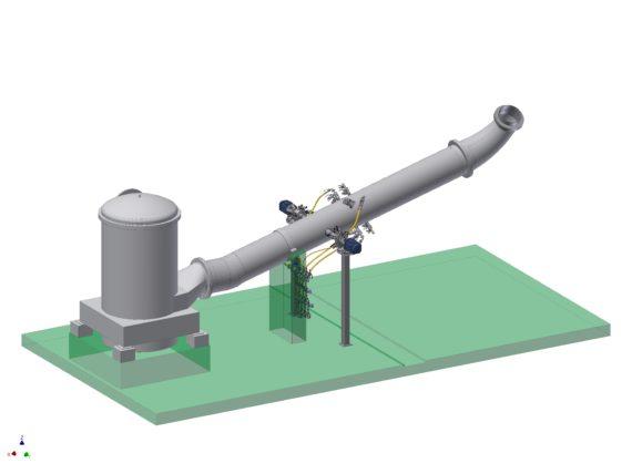 TrumpJet Flash Mixing Reaktori
